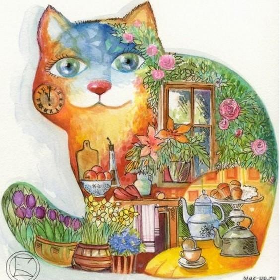 Сказка о коте 4